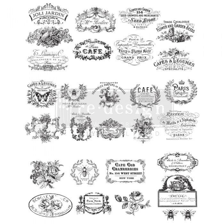 Siirdepilt Classic Vintage labels