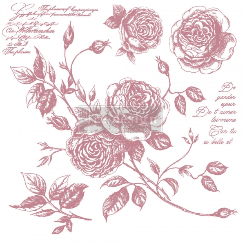 RE·DESIGN WITH PRIMA® templid Romance Roses