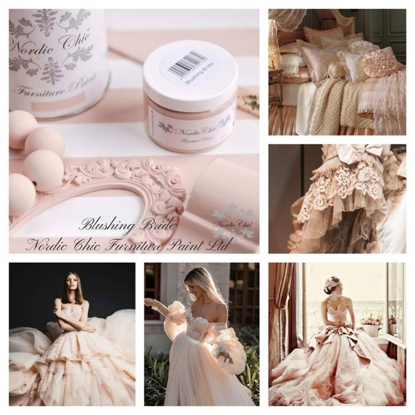 Nordic Chic Blushing Bride