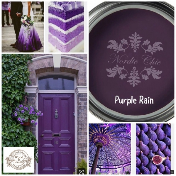 Nordic Chic Purple Rain