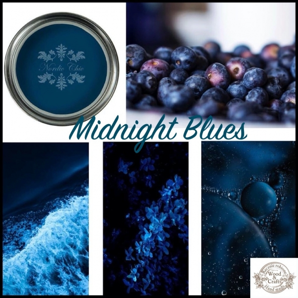 Nordic Chic Midnight Blues