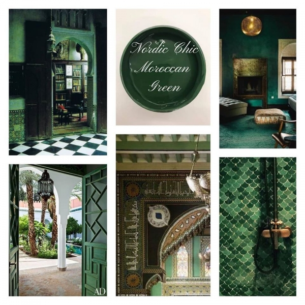 Nordic Chic Moroccan Green