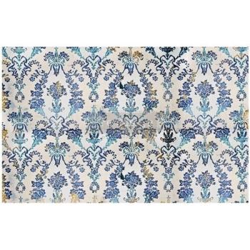 RE·DESIGN WITH PRIMA® dekupaaźipaber Cobalt Florish