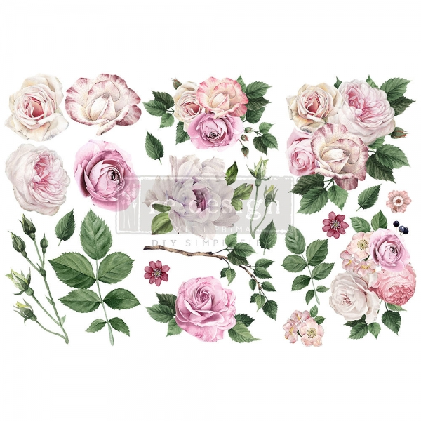 Redesign with Prima siirdepilt Delicate Roses