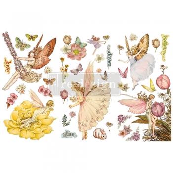 Redesign with Prima siirdepilt Fairy Flowers