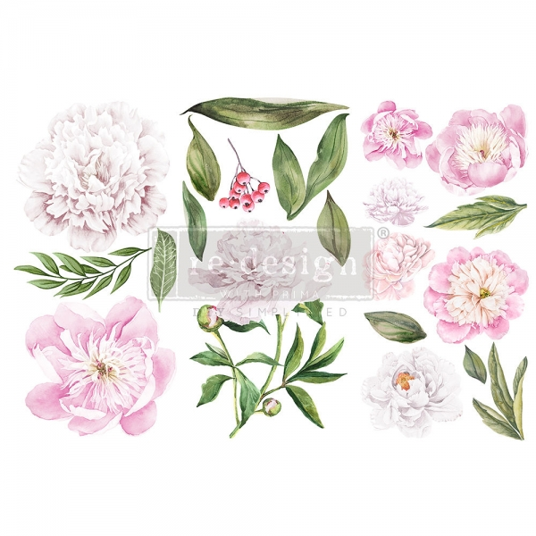 Redesign with Prima siirdepilt Morning Peonies