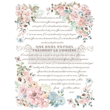 RE·DESIGN WITH PRIMA® siirdepilt Pure Light Floral