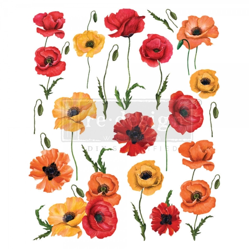 Redesign with Prima siirdepilt Poppy Gardens