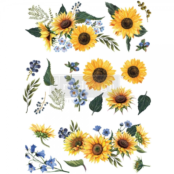 Redesign with Prima siirdepilt Sunflower Fields