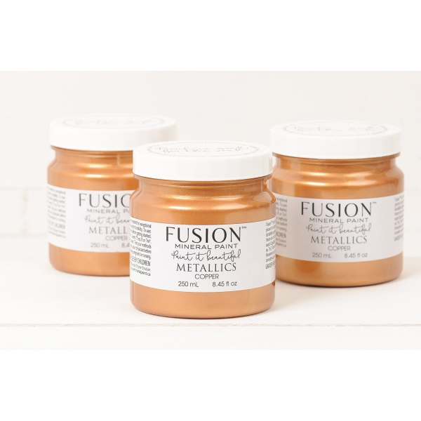 FUSION™ MINERAL PAINT metallikvärv Copper