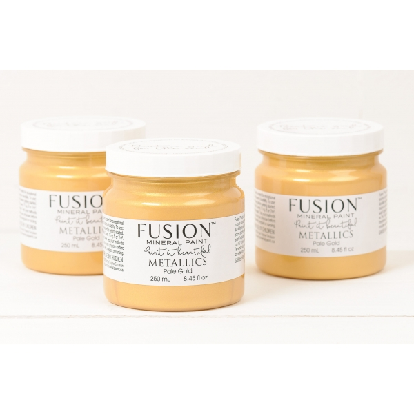 FUSION™ MINERAL PAINT metallikvärv Pale Gold