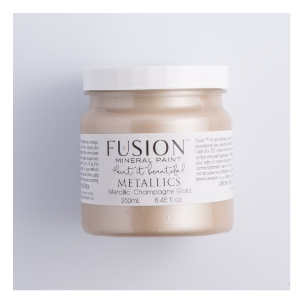 FUSION™ MINERAL PAINT metallikvärv Champagne gold