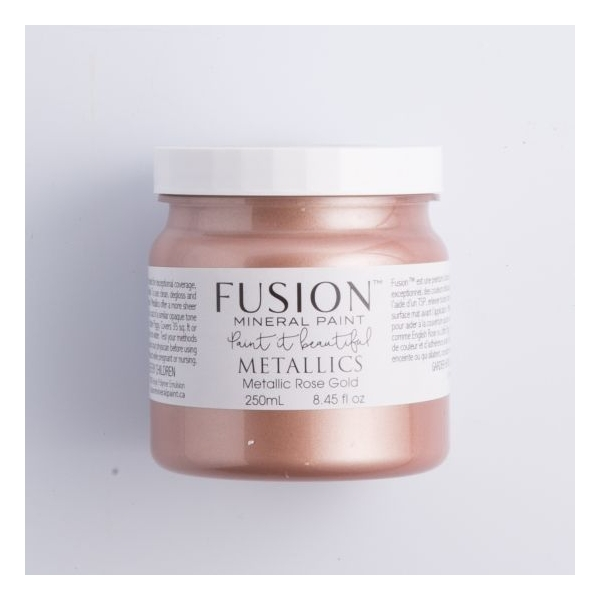 Fusion metallikvärv Rose Gold