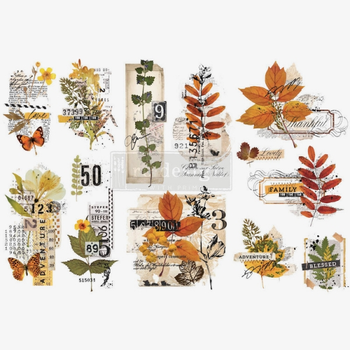 RE·DESIGN WITH PRIMA® siirdepilt Foliage Collector