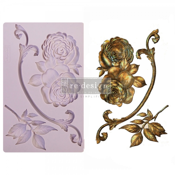 Redesign with Prima silikoonvorm Victorian Rose