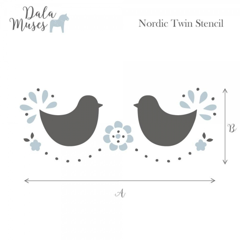 Śabloon Nordic Twin