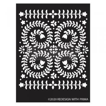 Redesign with Prima śabloon Elegant Vine